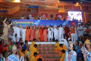 Worship for WASH Pledge during Ujjain Kumbh Mela