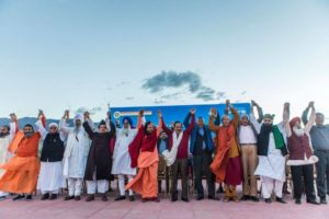 faith leaders during ladakh summit of giwa